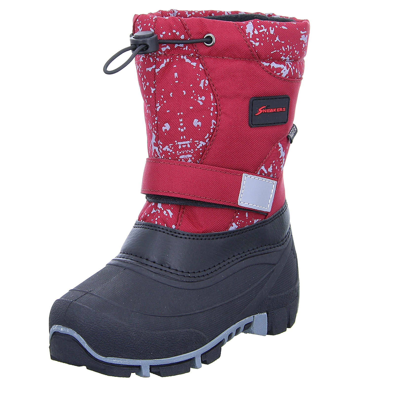 Sneakers Kinder Stiefel rot Gr. 34