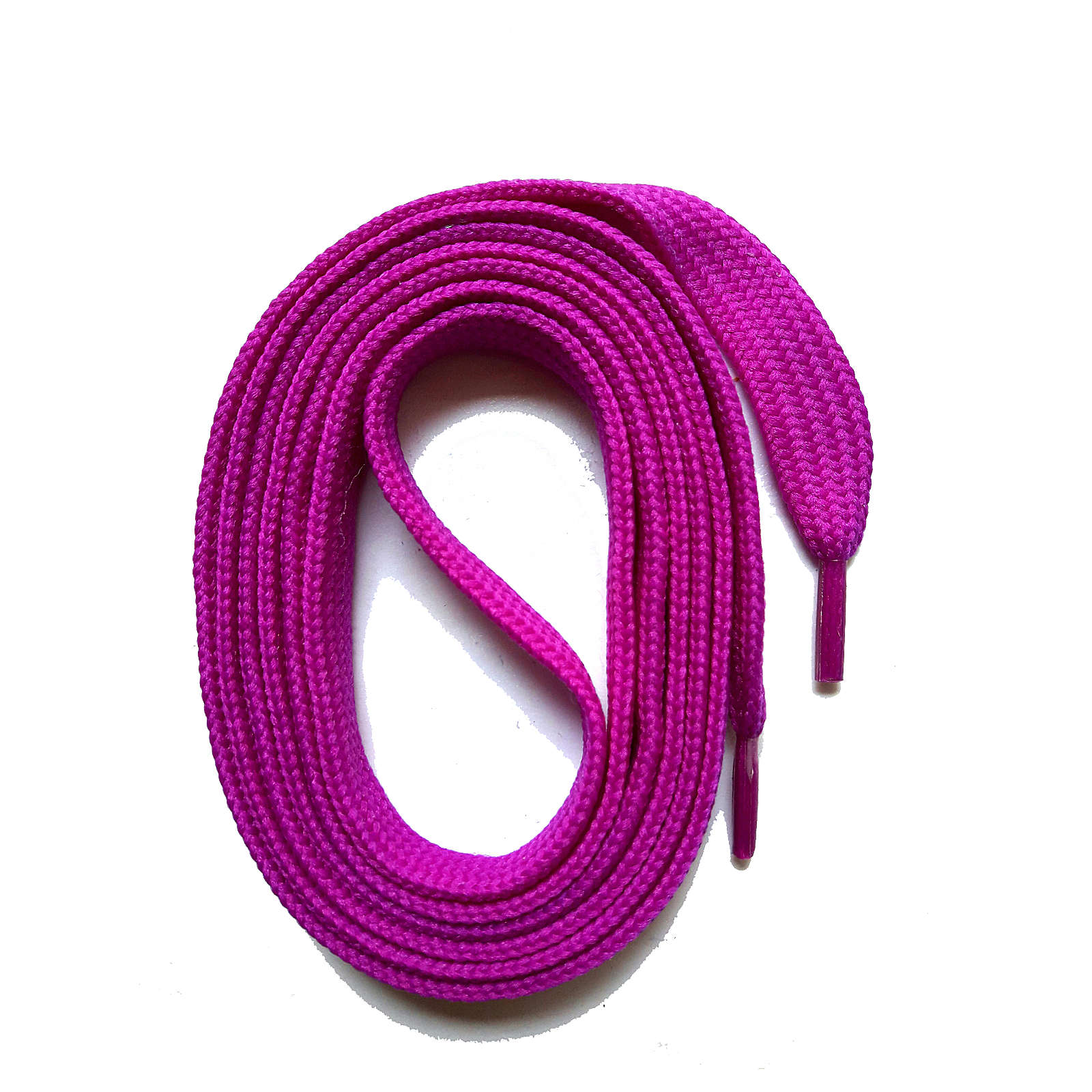 SNORS shoefriends SNORS Schnürsenkel flach 100-145cm, 11mm aus Polyester Schnürsenkel violett Gr. 100
