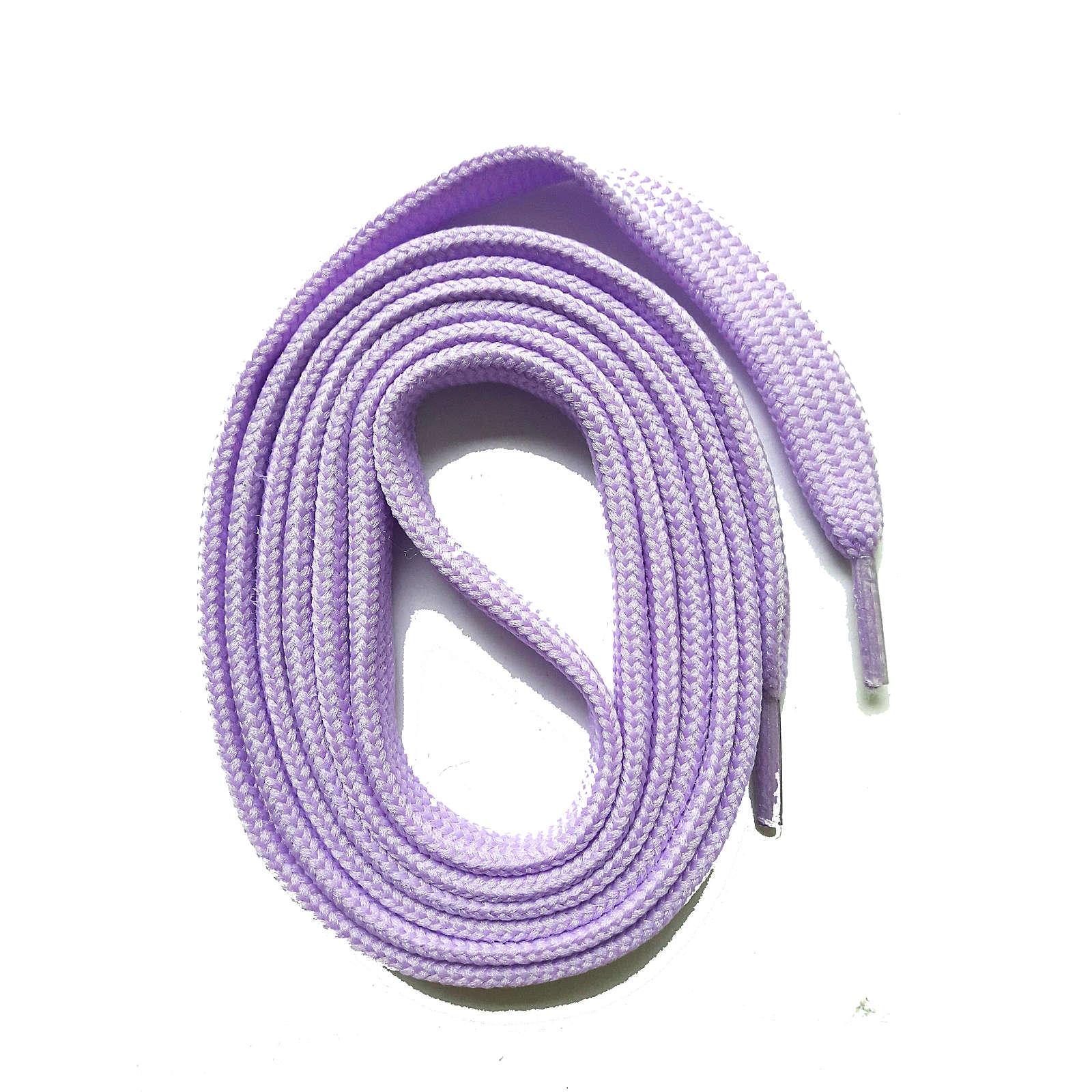 SNORS shoefriends SNORS Schnürsenkel flach 60-240cm, 7mm aus Polyester Schnürsenkel lila Gr. 60