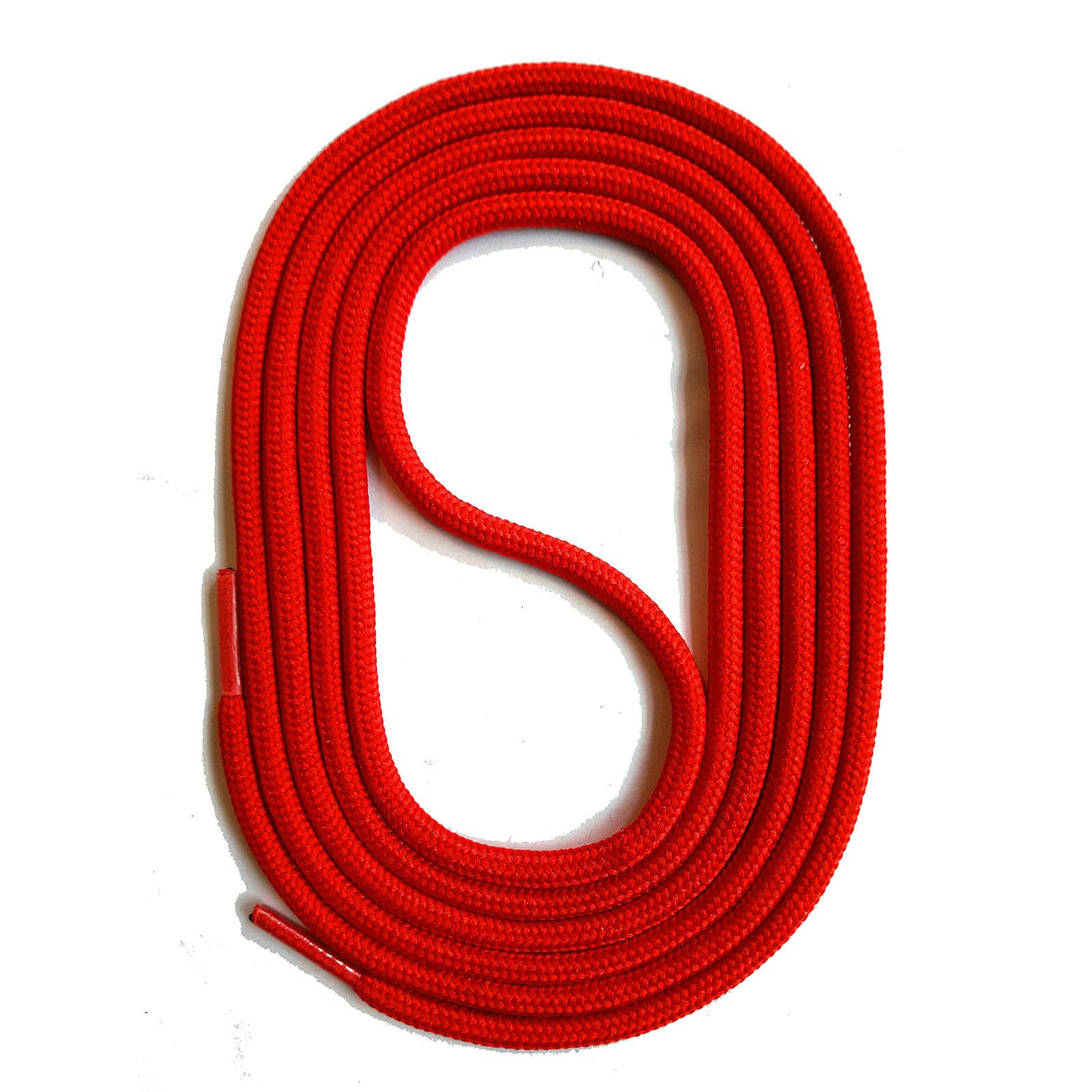 SNORS shoefriends SNORS Schnürsenkel rund 60-150cm, 3mm aus Polyester Schnürsenkel rot Gr. 60