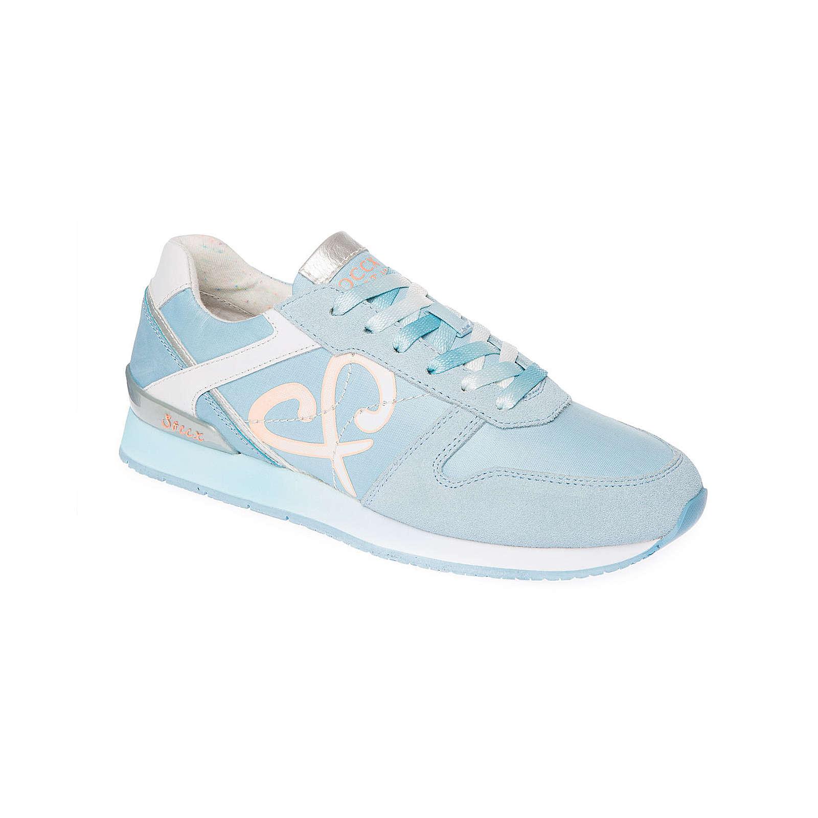 Soccx Sneaker im Materialmix hellblau Damen Gr. 36