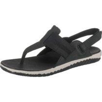 SOREL OUT N ABOUT™ PLUS SANDAL Klassische Sandalen schwarz/weiß Damen Gr. 41