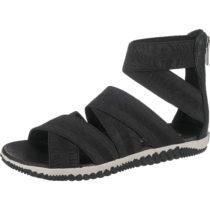 SOREL OUT N ABOUT™ PLUS STRAP Klassische Sandalen schwarz/weiß Damen Gr. 41