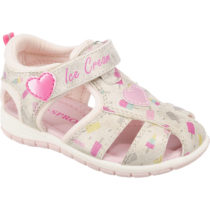 SPROX Baby Sandalen für Mädchen silber Mädchen Gr. 25