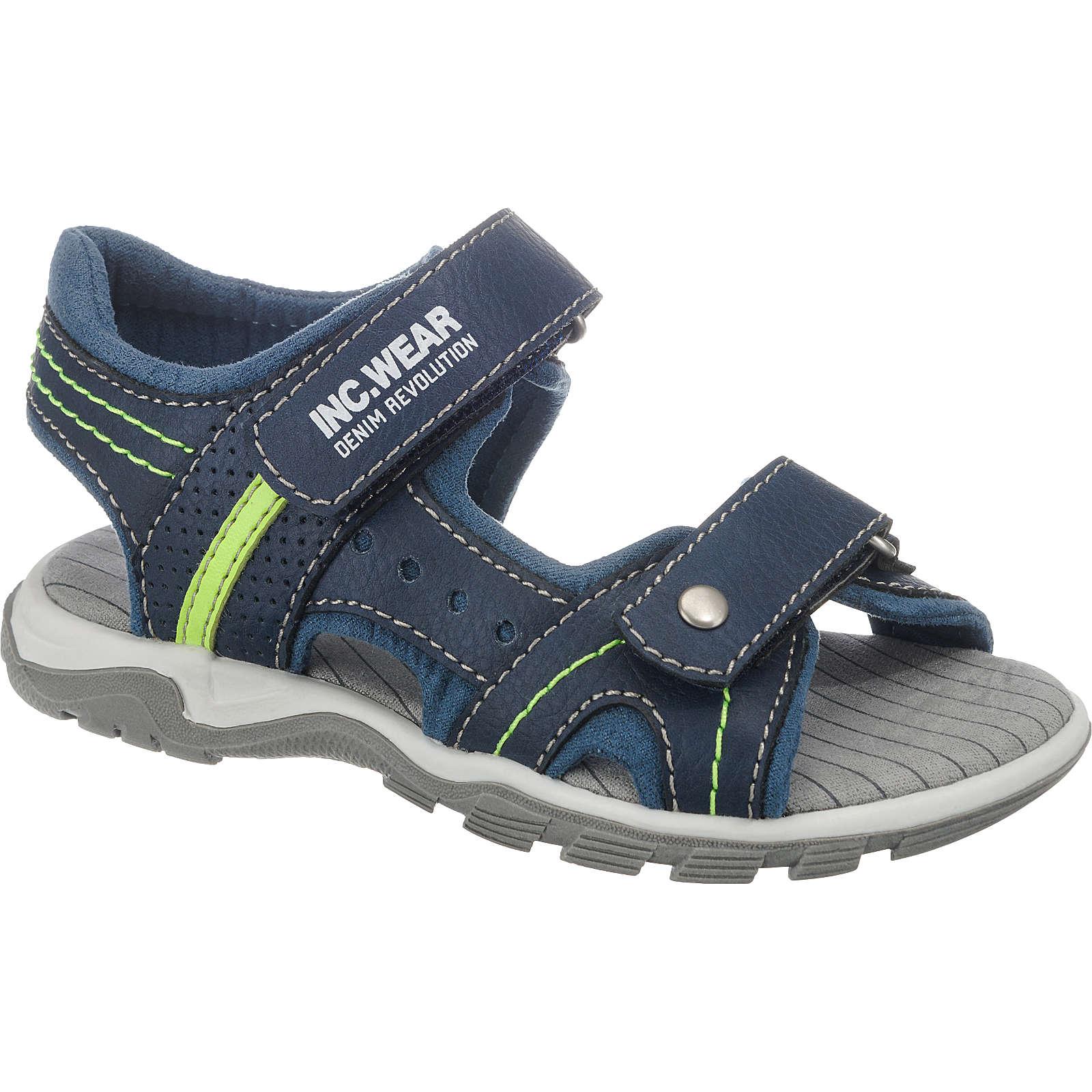 SPROX Sandalen für Jungen blau Junge Gr. 28