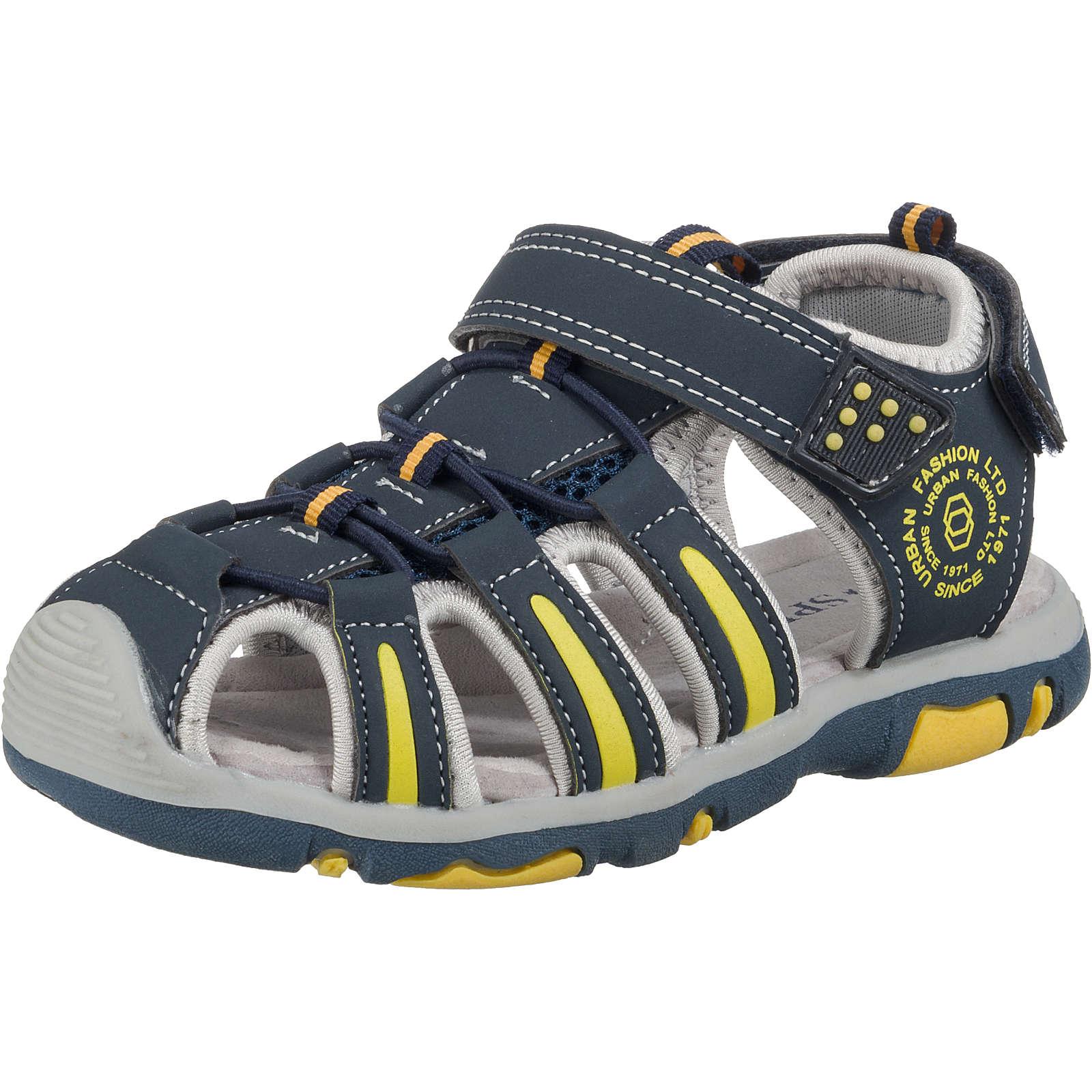 SPROX Sandalen für Jungen dunkelblau Junge Gr. 35