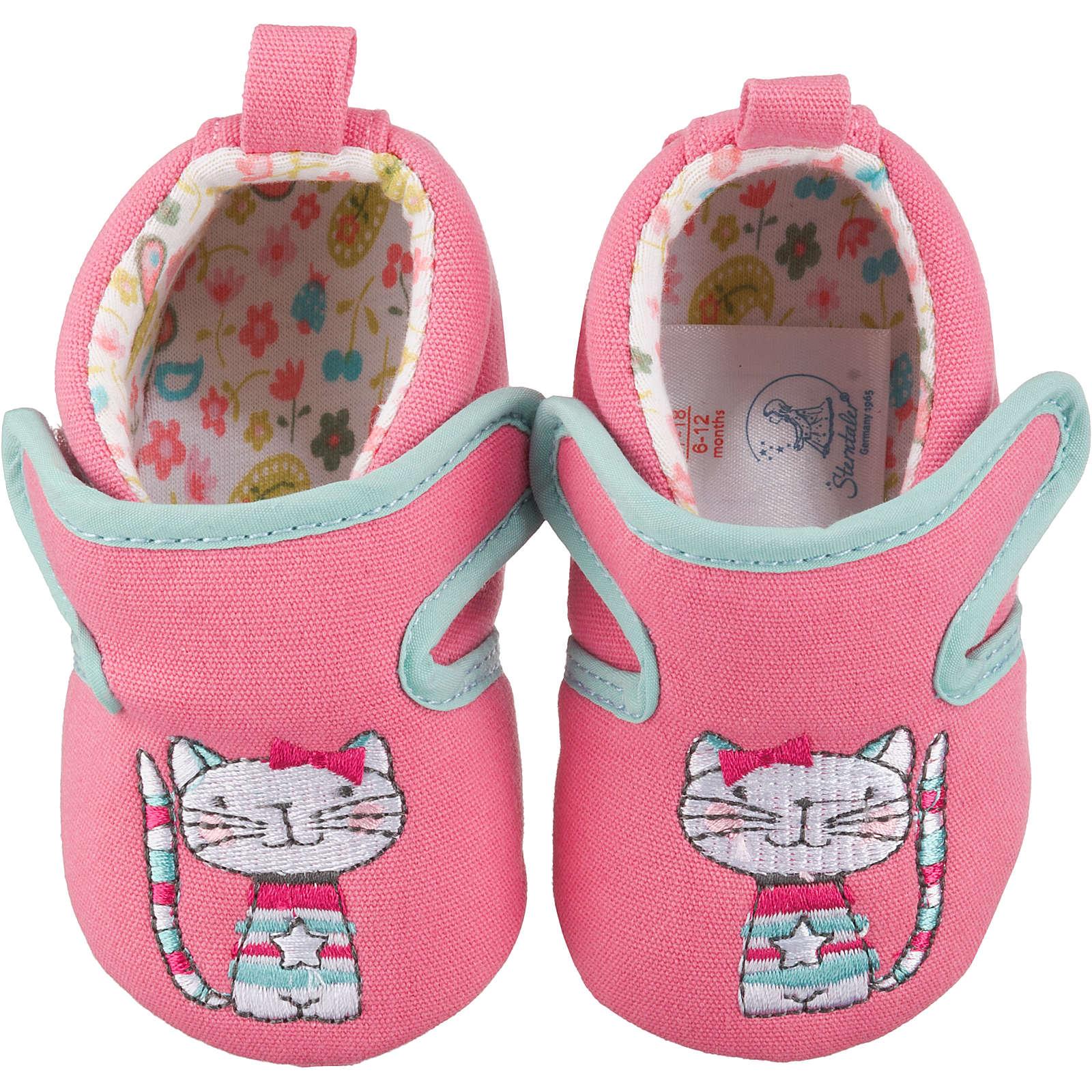 Sterntaler Krabbelschuhe für Mädchen rosa Mädchen Gr. 20