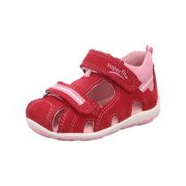 superfit Baby Sandalen FANNI für Mädchen, WMS-Weite M4 rot Mädchen Gr. 27