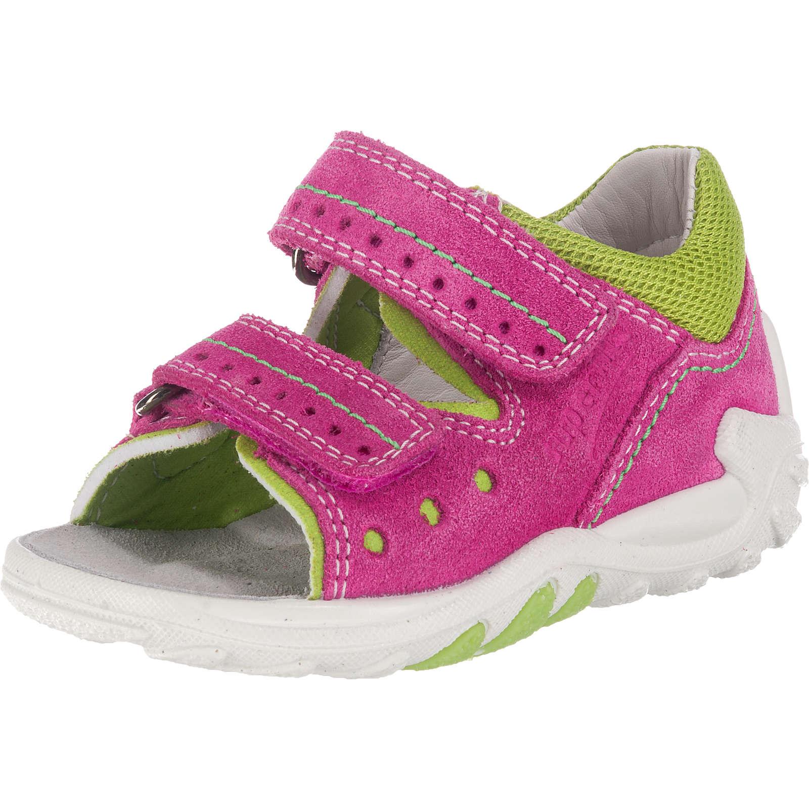 superfit Baby Sandalen FLOW für Mädchen, Weite M4 pink Mädchen Gr. 26