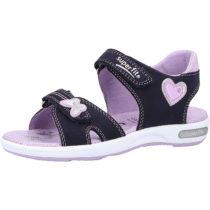 superfit Sandalen für Mädchen dunkelblau Mädchen Gr. 33