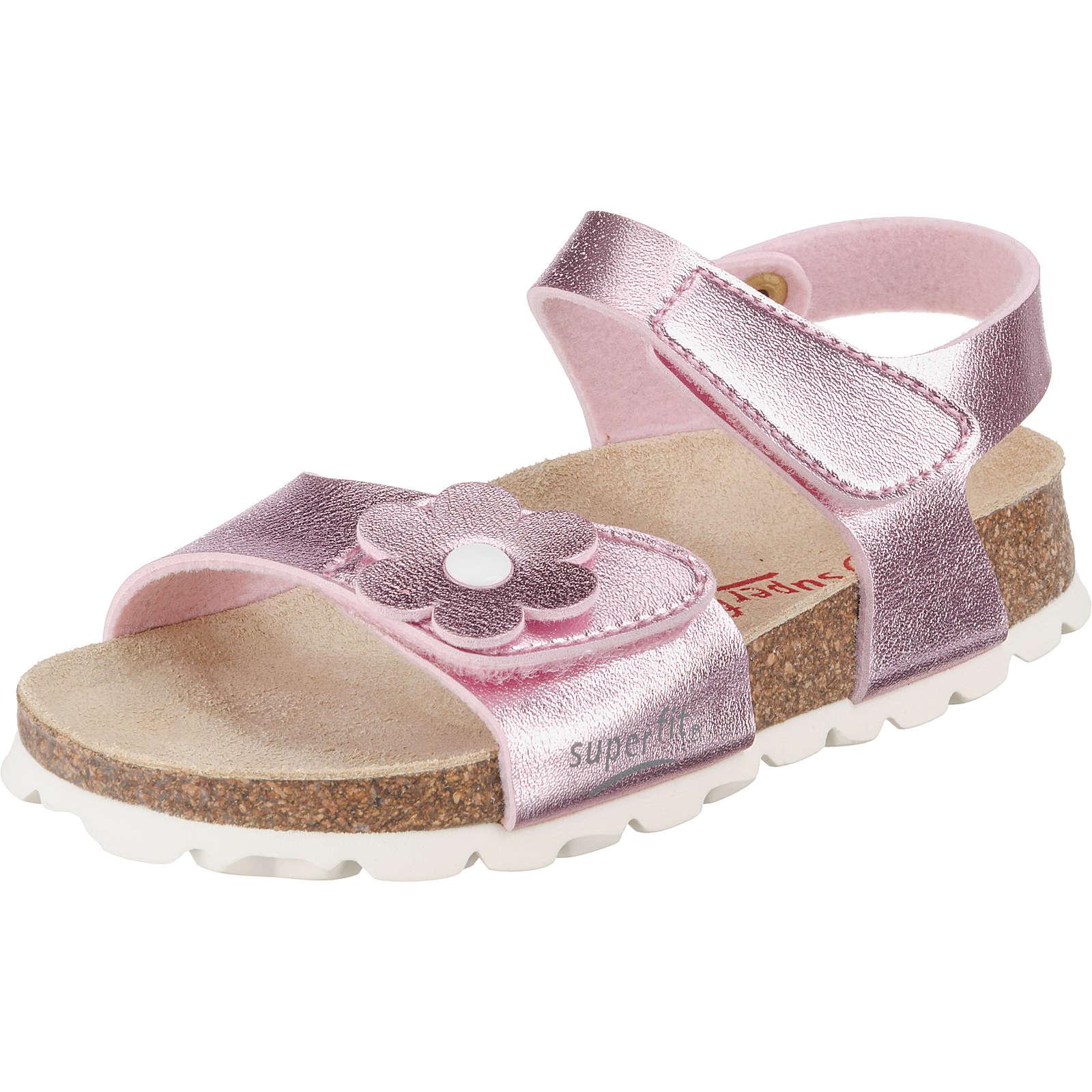superfit Sandalen für Mädchen rosa Mädchen Gr. 29