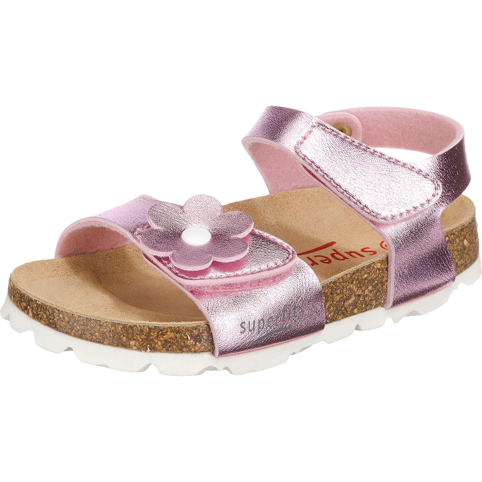 superfit Sandalen für Mädchen, Weite M4 rosa Mädchen Gr. 33