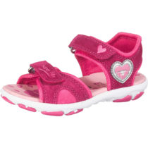 superfit Sandalen Nelly für Mädchen, Herz, Weite M4 pink Mädchen Gr. 26