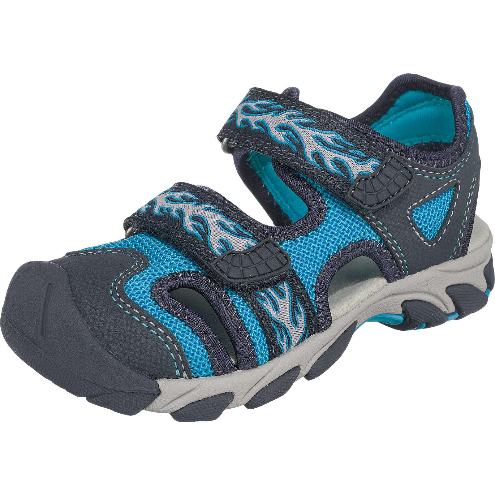 superfit Sandalen OCTOPUSS für Jungen, Weite M4 blau Junge Gr. 28