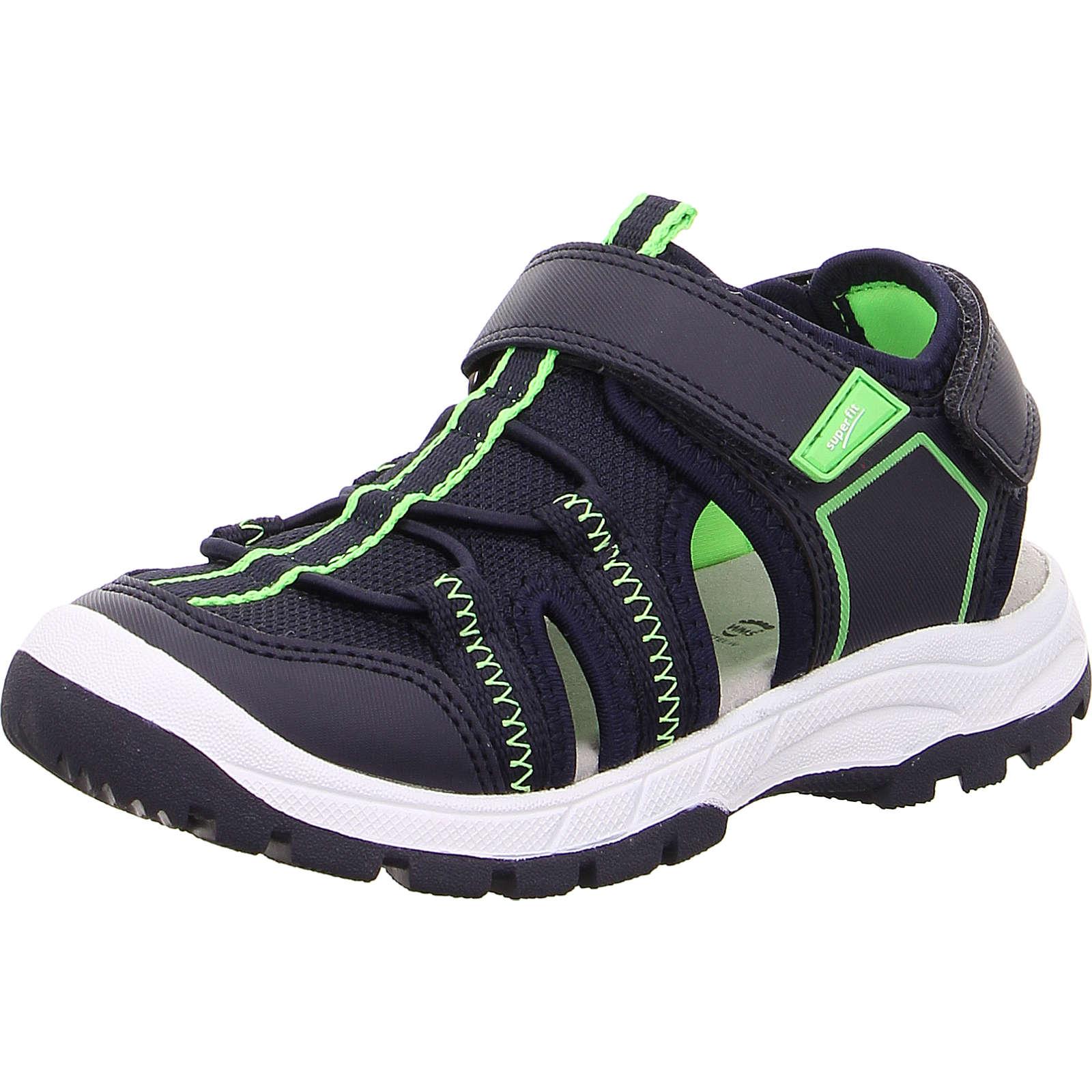 superfit Sandalen TORNADO für Jungen, WMS-Weite M4 blau/grün Junge Gr. 33