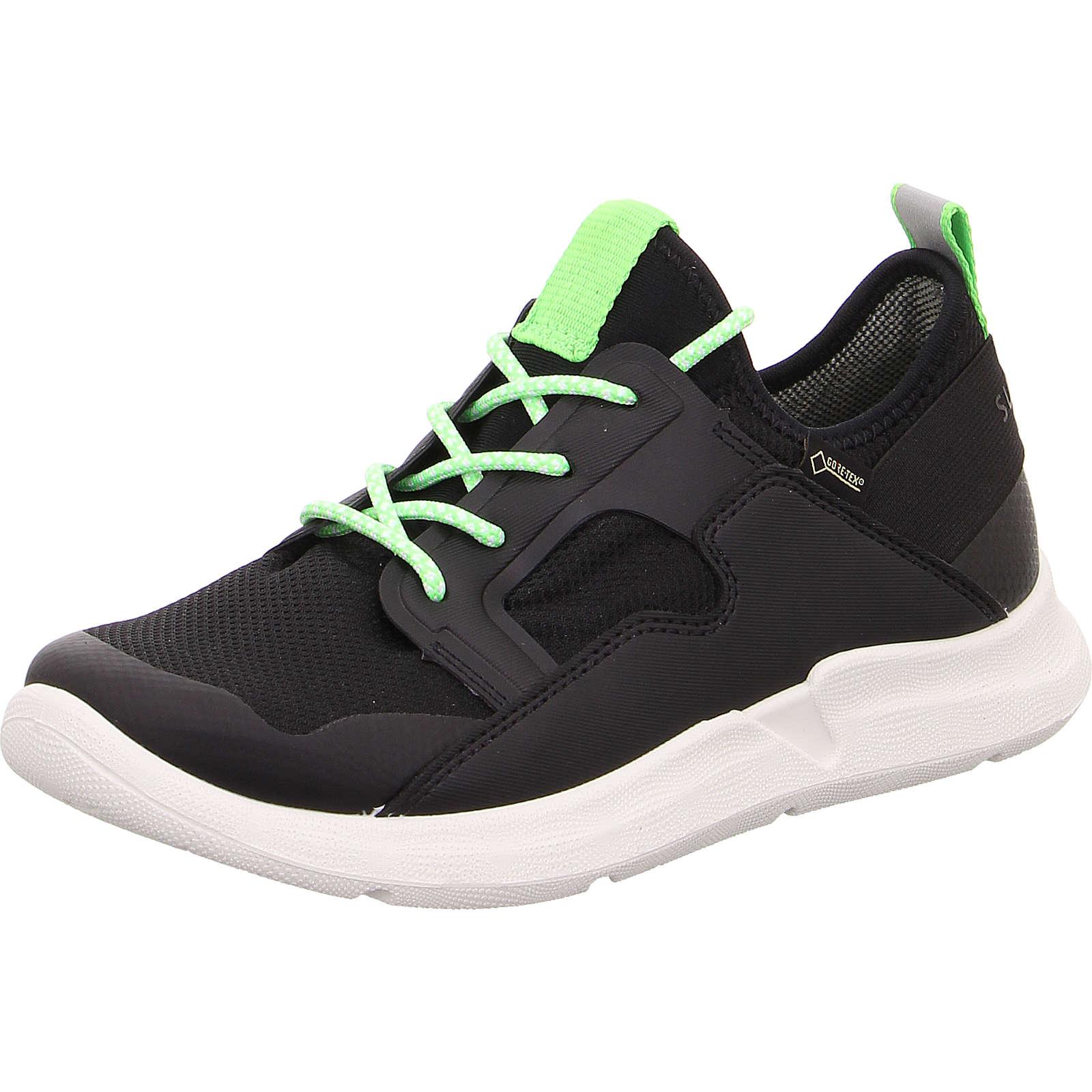 superfit Sneakers Low THUNDER für Jungen, WMS-Weite M4, GORE-TEX schwarz Junge Gr. 42