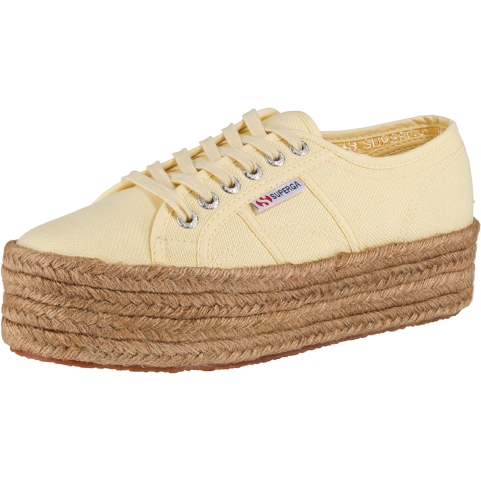 Superga® 2790 Cotropew Sneakers Low gelb Damen Gr. 38