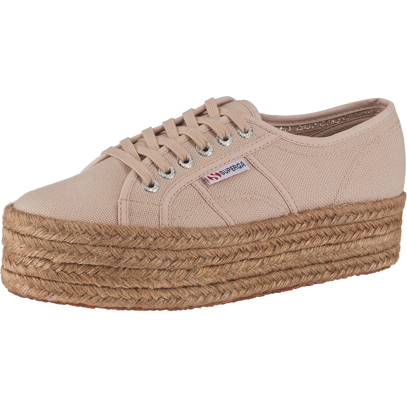 Superga® 2790 Cotropew Sneakers Low beige Damen Gr. 39
