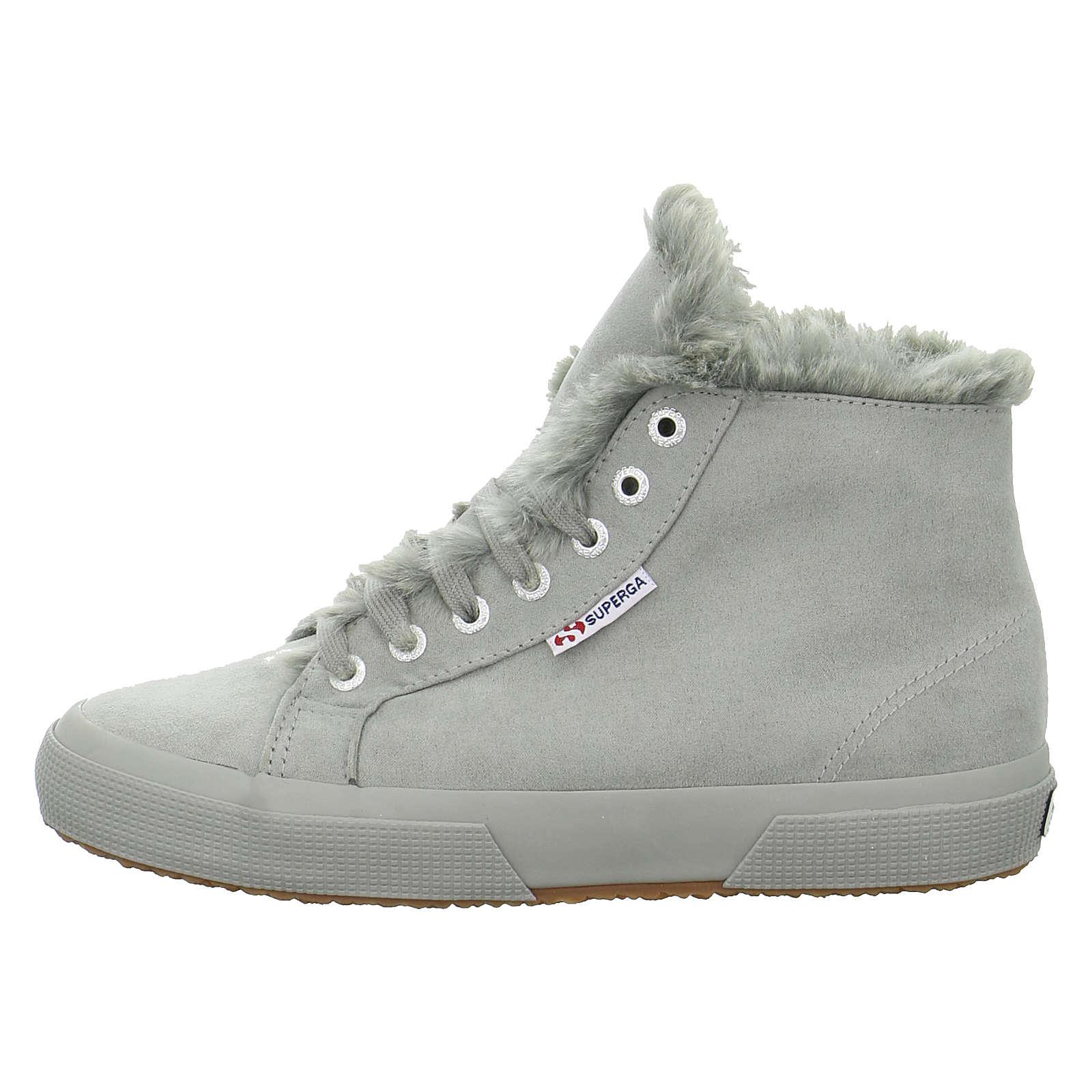 Superga® Sneakers High 2795 grau Damen Gr. 39