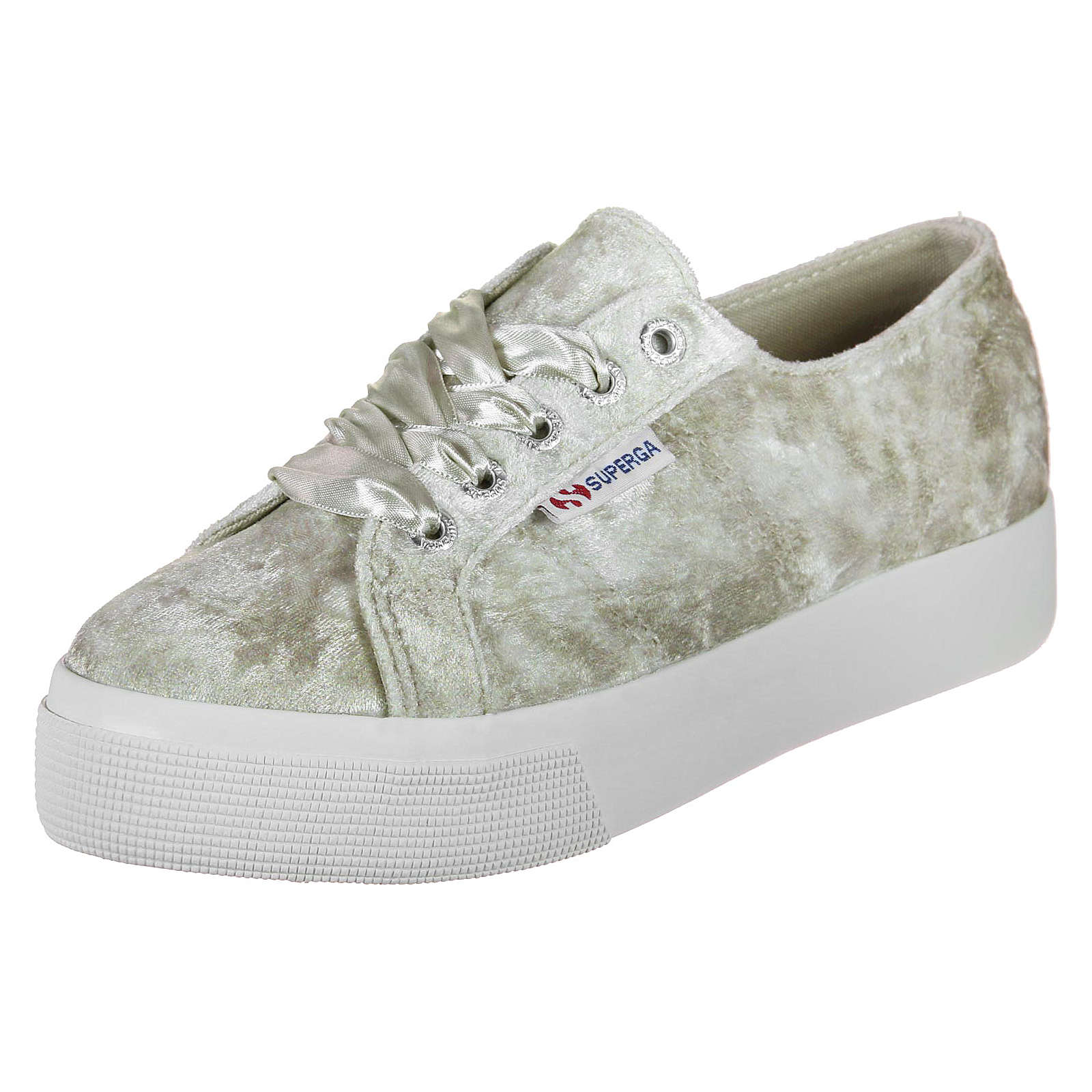 Superga® Superga Sneaker 2730 Velvet Shiny W in lässigem Look Sneakers Low beige Damen Gr. 39