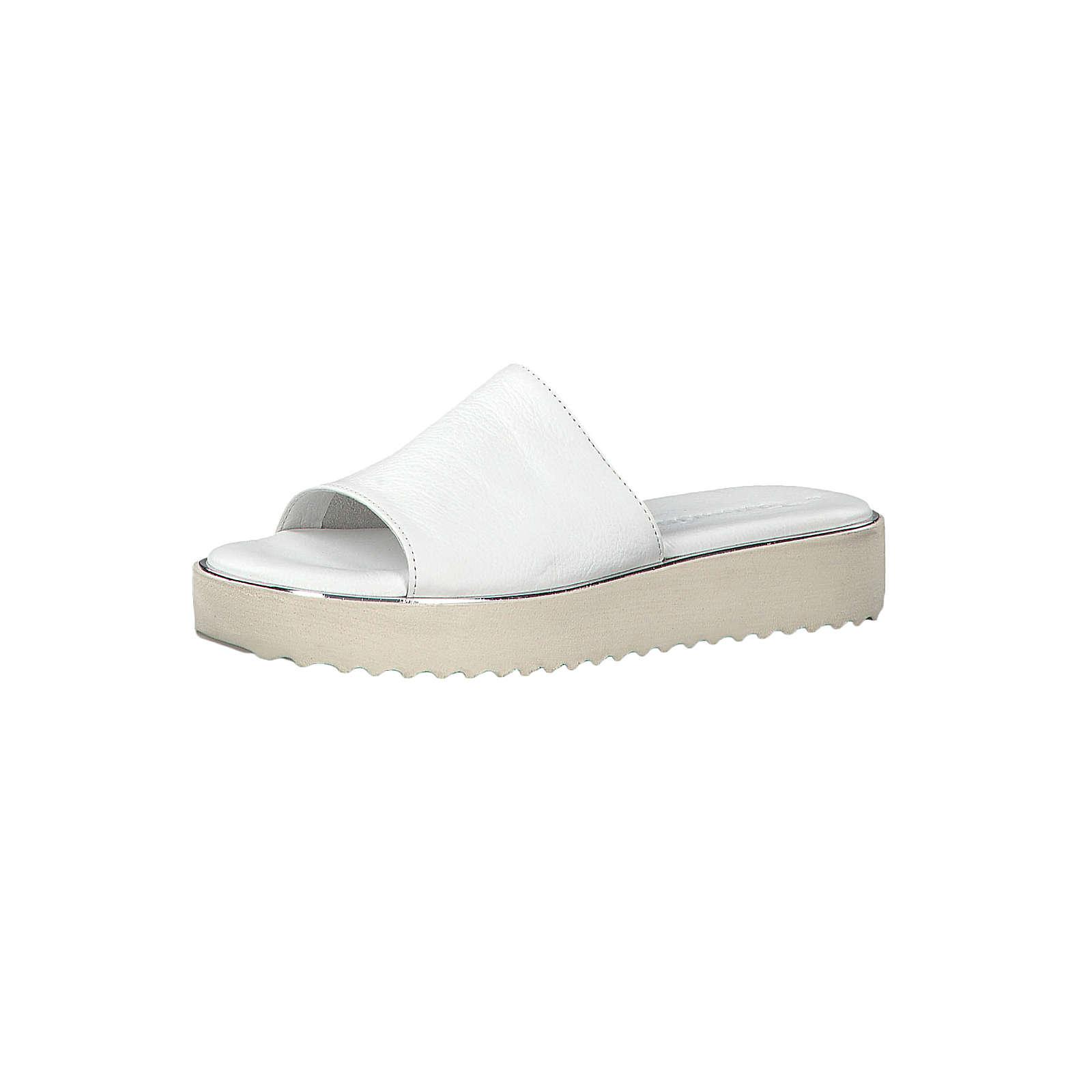Tamaris 1-27204-22 100 Damen White Weiss Sandale Badeschuhe mit TOUCH-IT Sohle Pantoletten weiß Damen Gr. 36
