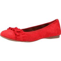 Tamaris Ballerinas Klassische Ballerinas rot Damen Gr. 38
