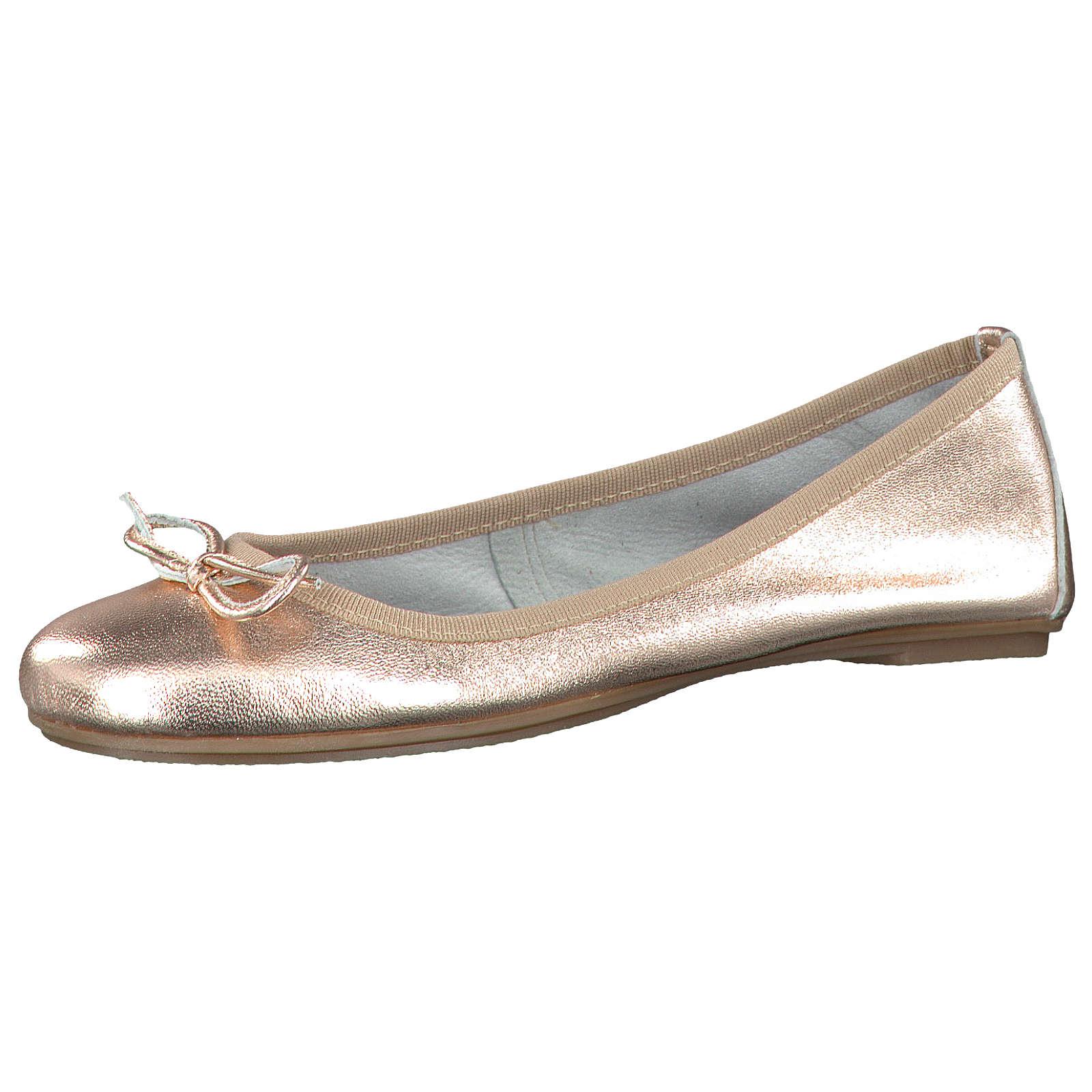 Tamaris Klassische Ballerinas rosegold Damen Gr. 41