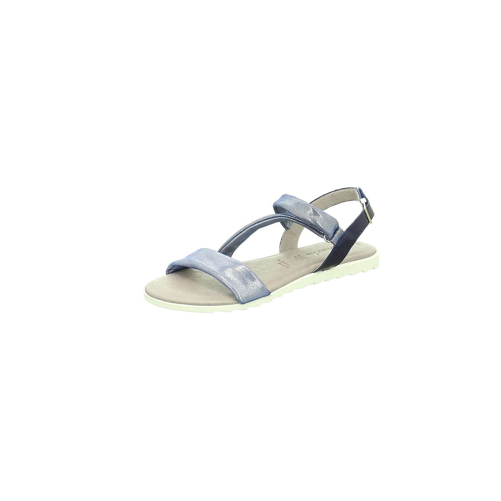 Tamaris Klassische Sandalen blau Damen Gr. 39