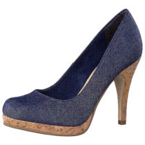 Tamaris Pumps blue denim Damen Gr. 41