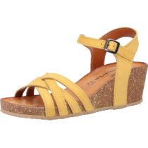 Tamaris Sandalen Klassische Sandaletten gelb Damen Gr. 38