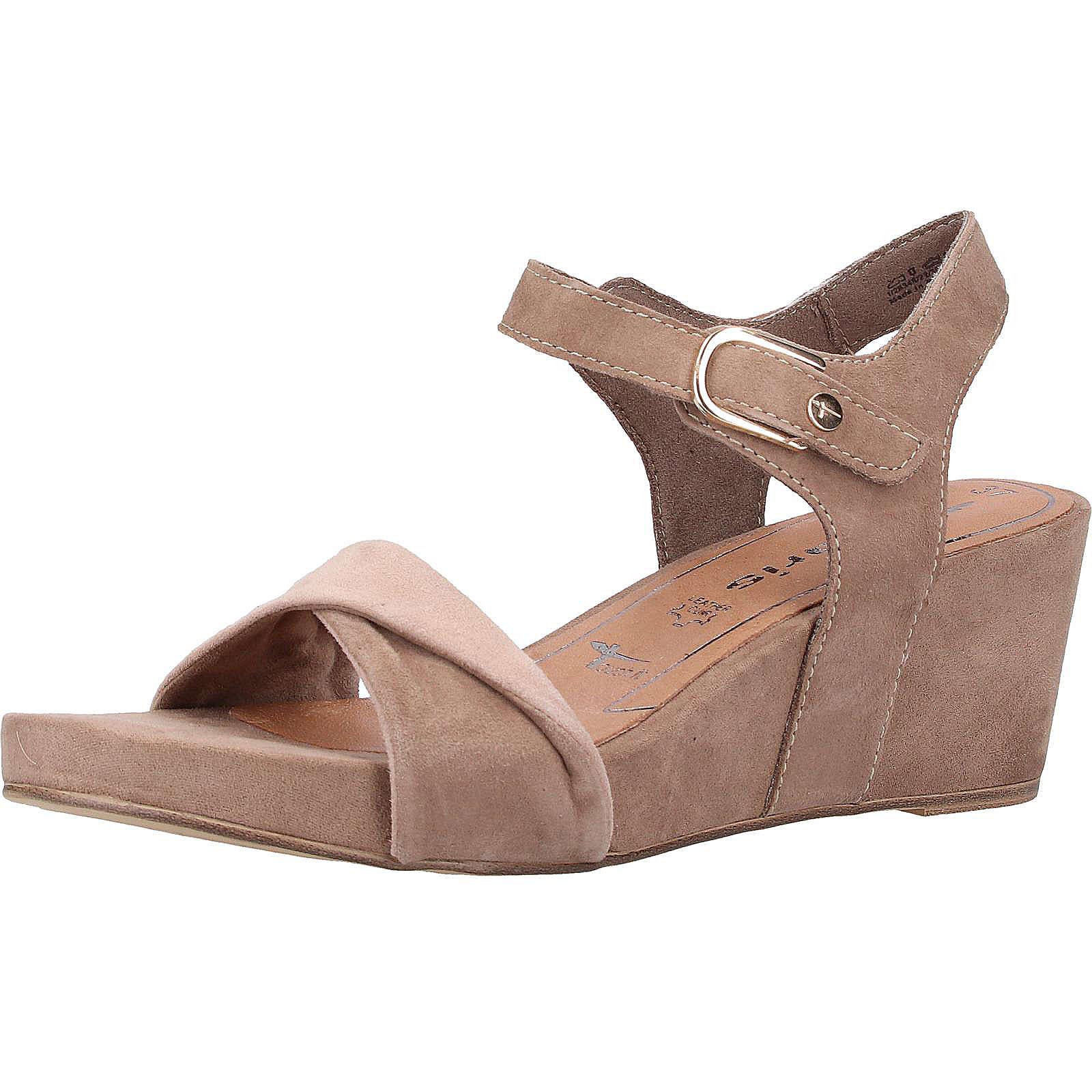 Tamaris Sandalen Klassische Sandaletten grau Damen Gr. 37
