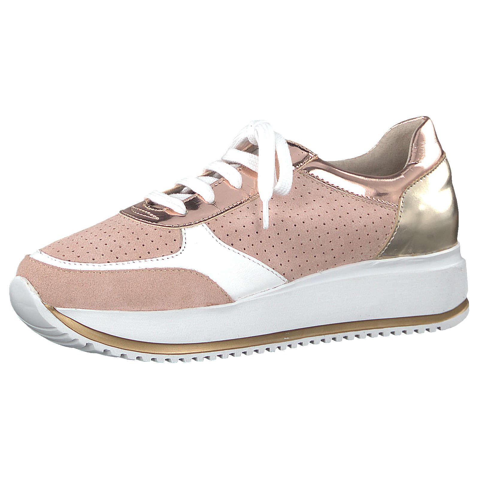 Tamaris Sneakers Low rosa-kombi Damen Gr. 41
