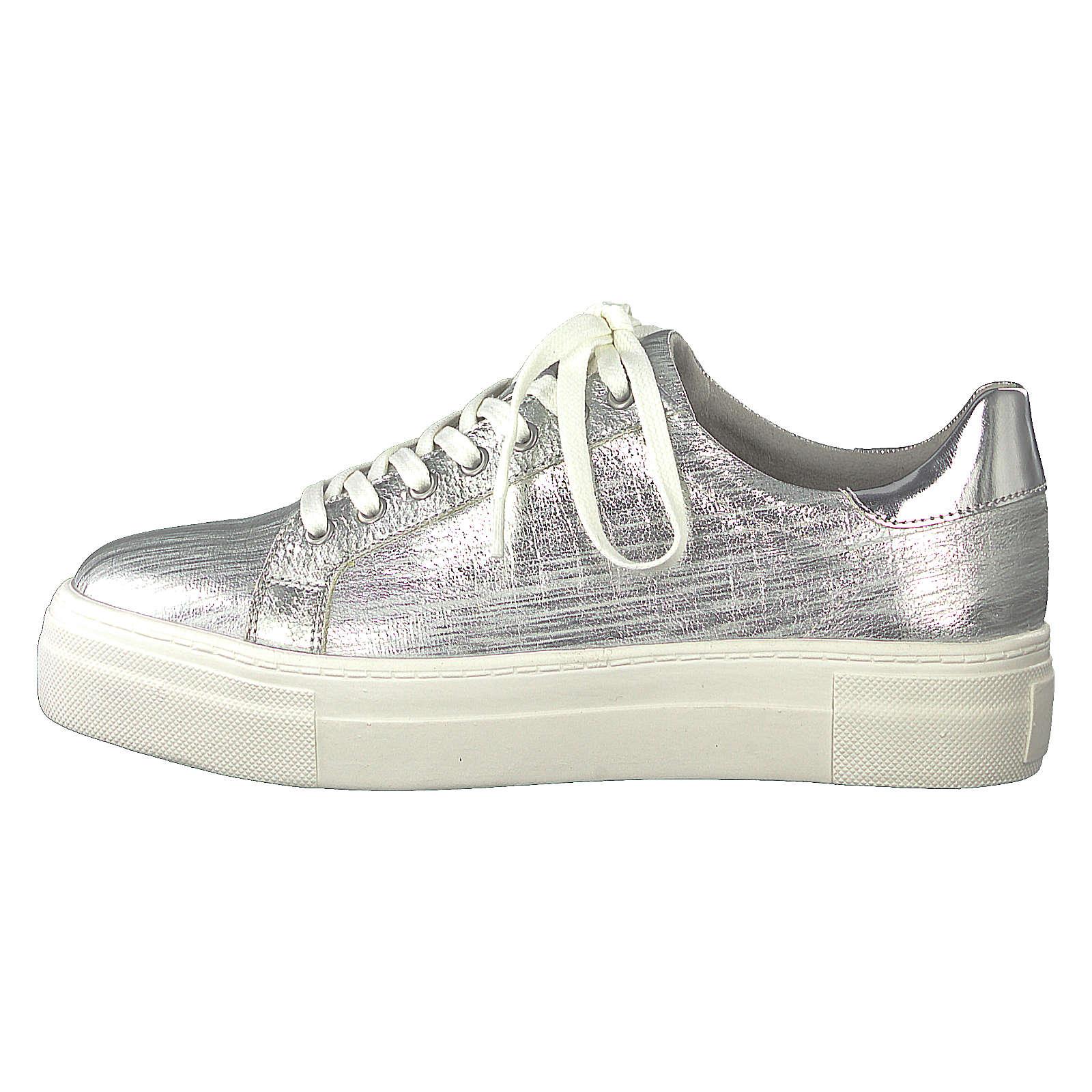 Tamaris Sneakers Low silber Damen Gr. 37