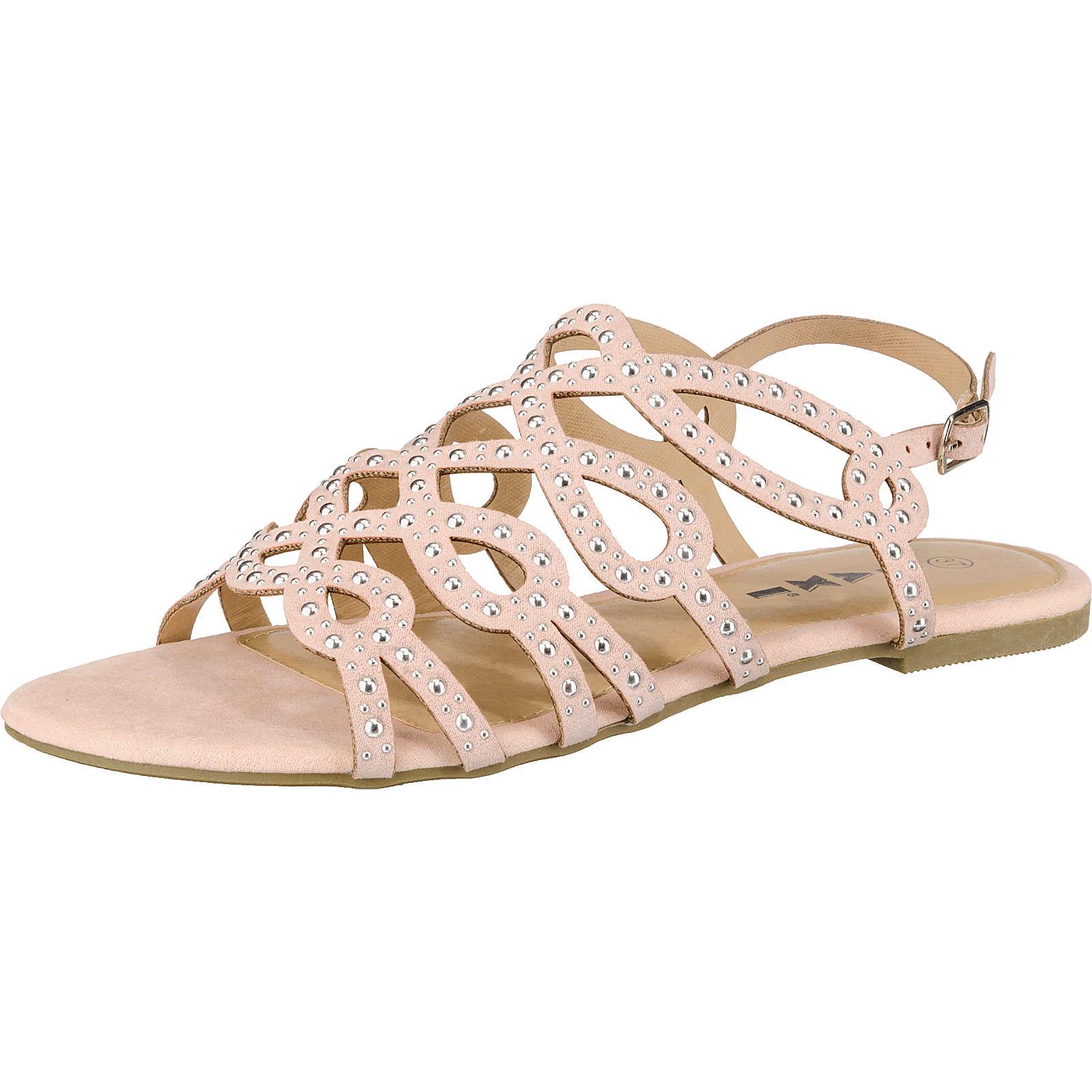 Taxi Shoes Riemchensandalen rosa Damen Gr. 36