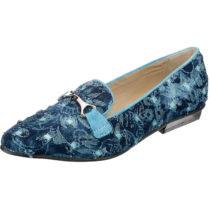 Tiggers® Carmen Klassische Slipper blau Damen Gr. 36