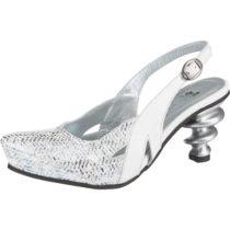 Tiggers® Drea 10 fm Klassische Sandaletten weiß Damen Gr. 36
