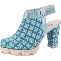 Tiggers® Genna Sling-Pumps blau Damen Gr. 40