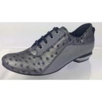 Tiggers® Paula 03a Autoschuh Schnürschuhe grau Damen Gr. 36,5