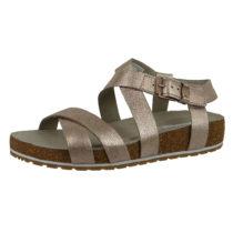 Timberland A1U21 Malibu Waves Ankle Sandal Damen Sandale Rose Gold Klassische Sandalen gold Damen Gr. 36