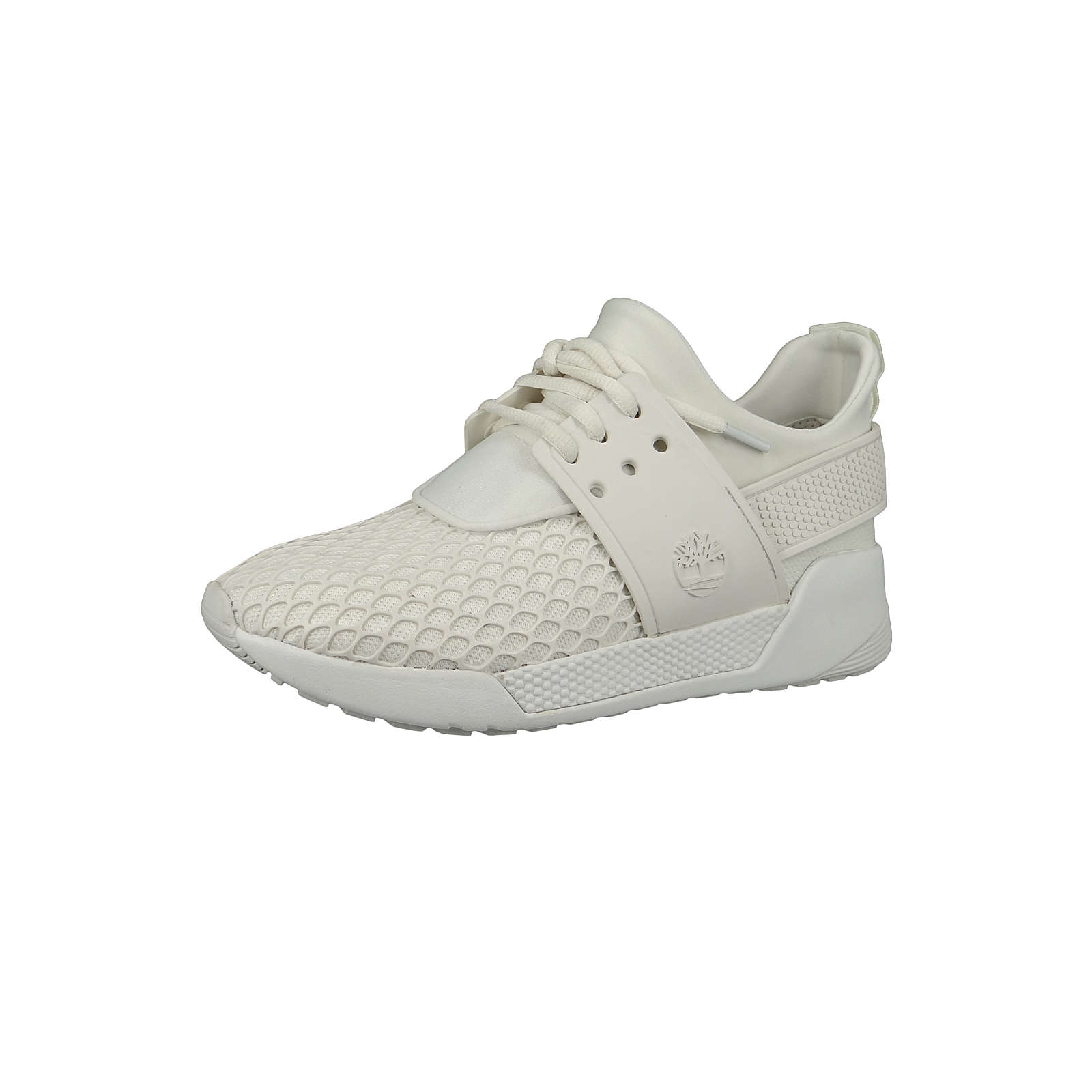 Timberland A1Y5C Kiri Up KPU Net Oxford Damen Schnürschuhe Sneaker White Weiss Sneakers Low weiß Damen Gr. 36