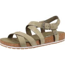 Timberland Sandalen Klassische Sandaletten khaki Damen Gr. 39,5