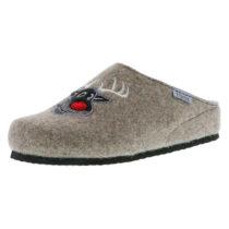 Tofee Damen Hausschuhe Pantoffeln Naturwollfilz (Rentier) braun braun Damen Gr. 36
