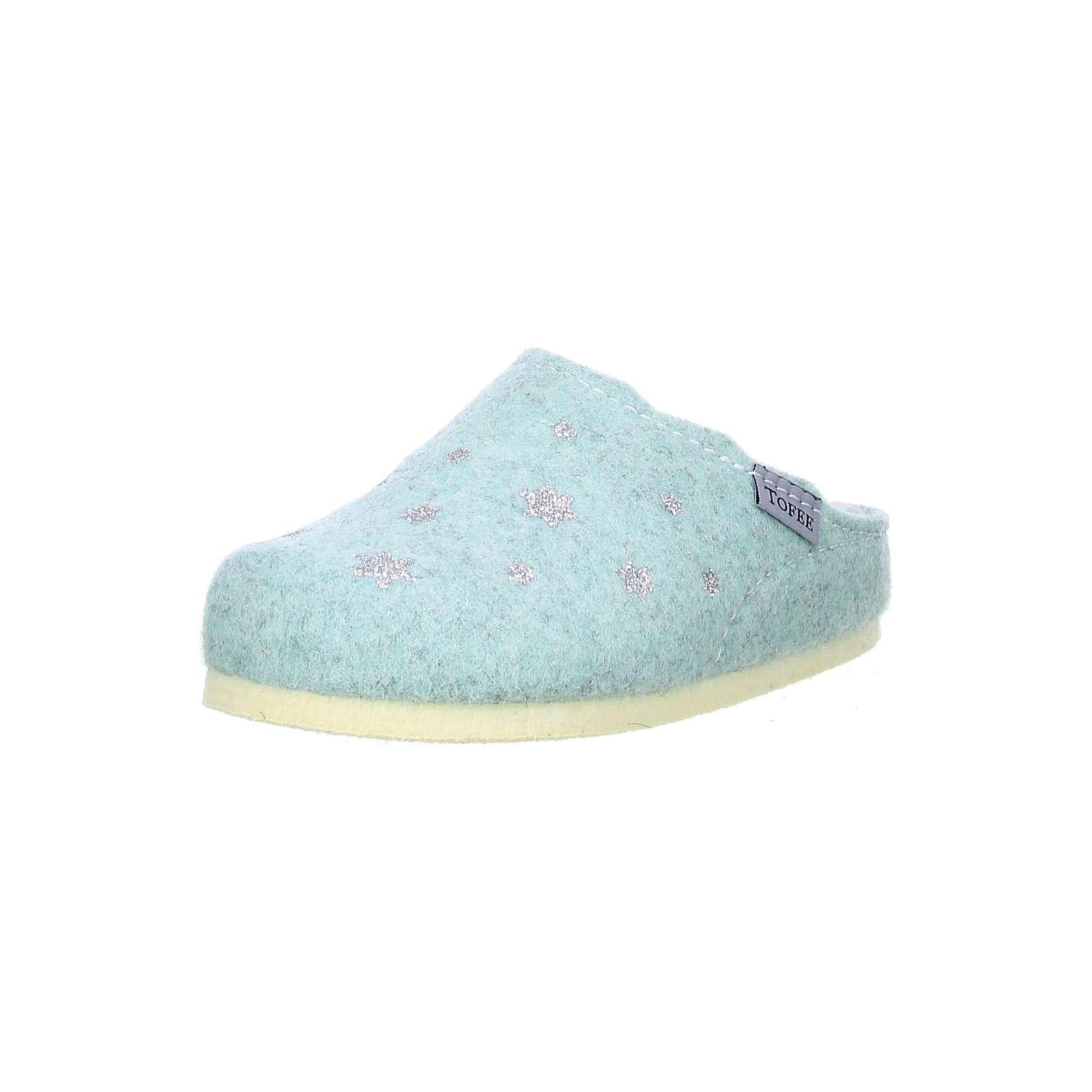 Tofee Hausschuhe für Mädchen blau Mädchen Gr. 29