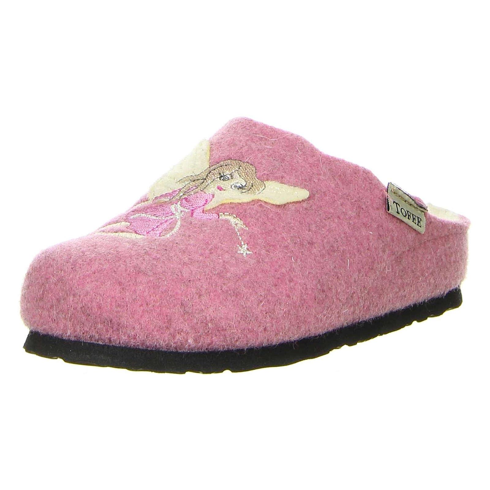 Tofee Hausschuhe für Mädchen rosa Mädchen Gr. 31