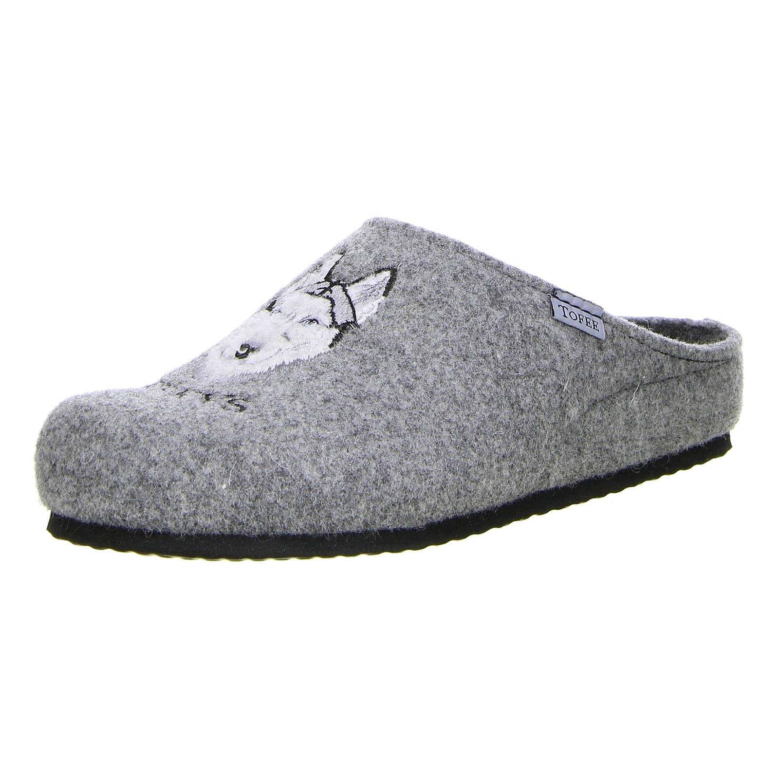 Tofee Herren Hausschuhe (Huskys) grau grau Herren Gr. 44