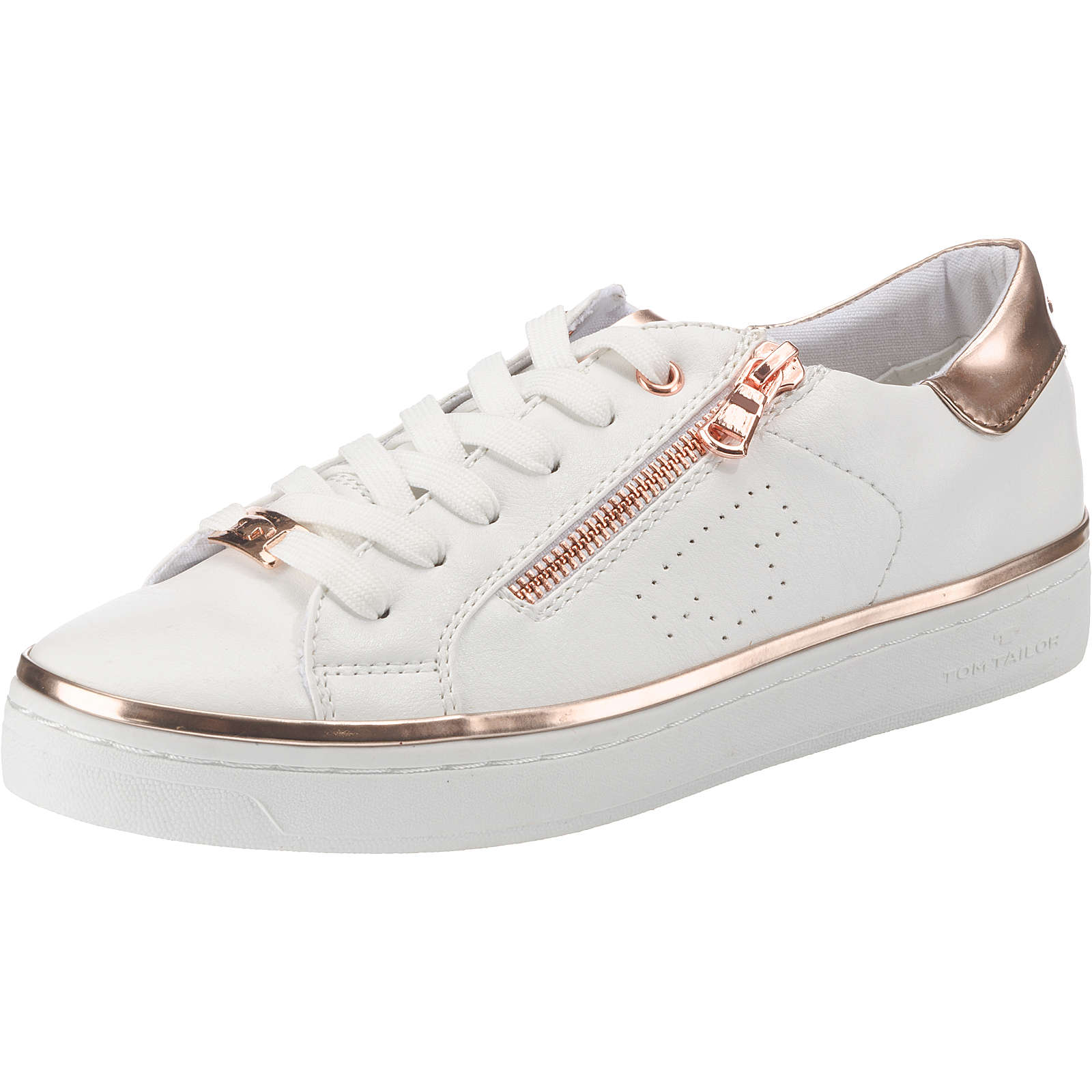 TOM TAILOR Sneakers Low weiß Damen Gr. 41