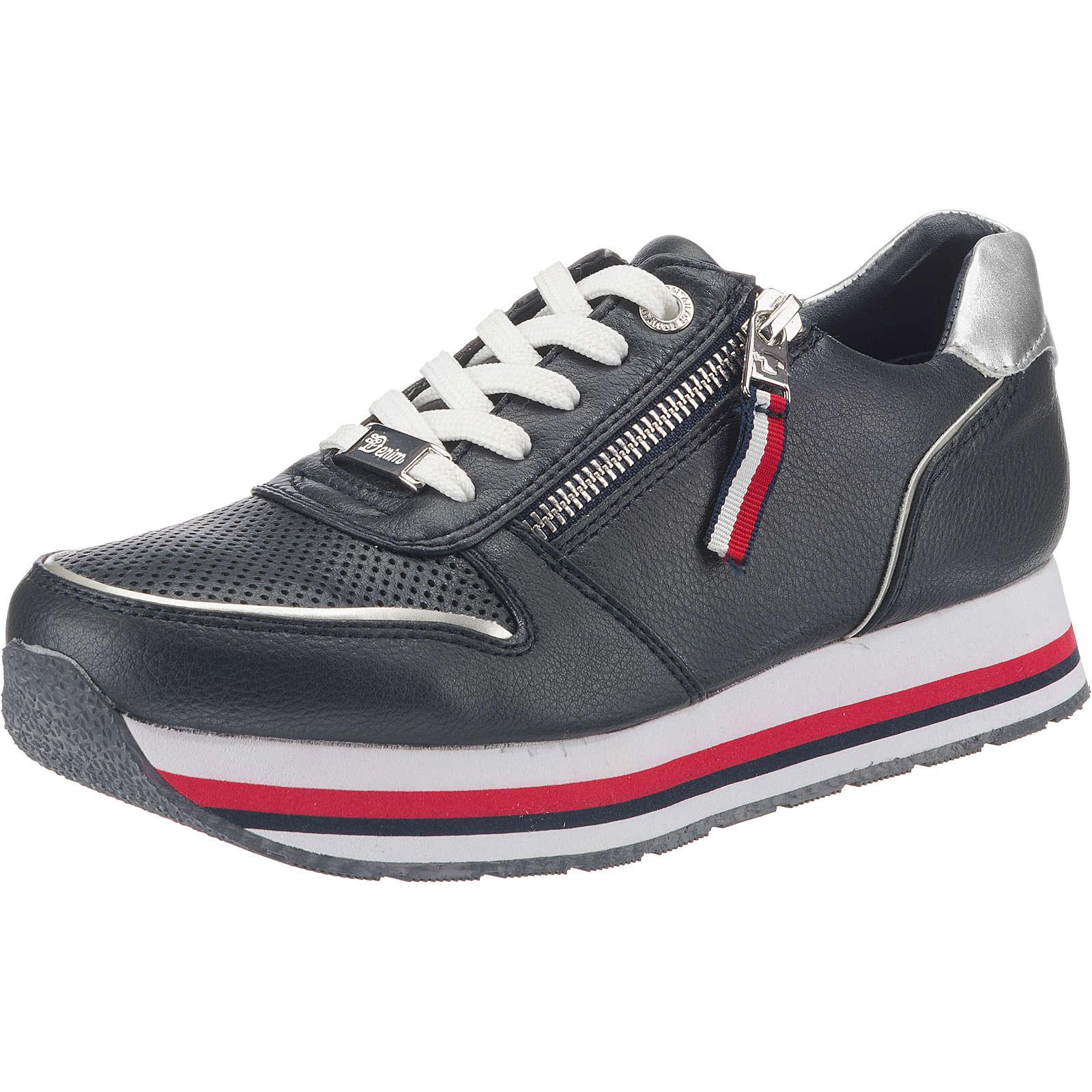 TOM TAILOR Sneakers Low dunkelblau Damen Gr. 37