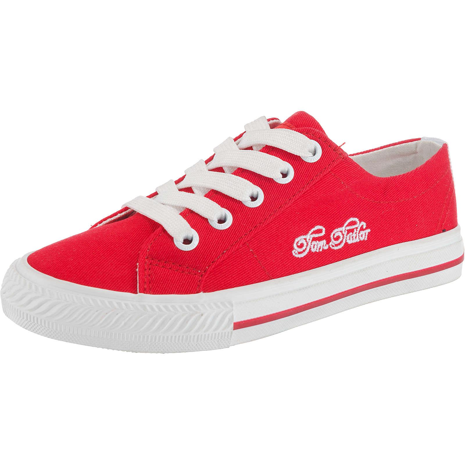 TOM TAILOR Kinder Sneakers rot Gr. 33