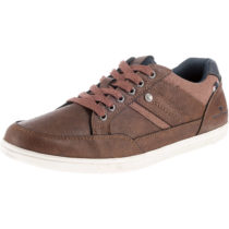 TOM TAILOR Sneakers Low cognac Herren Gr. 42