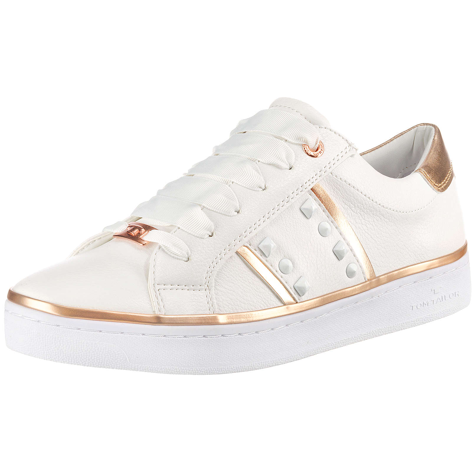 TOM TAILOR Sneakers Low weiß Damen Gr. 37